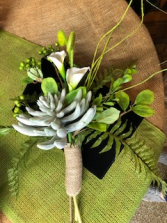 Hand Held Silk Keepsage Bouquet