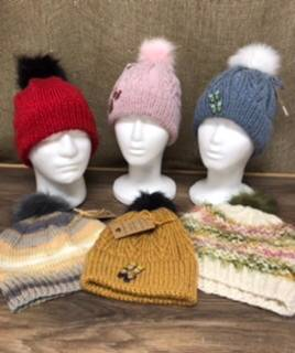 Hand knit hats Items sold separately