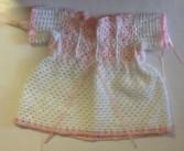 Hand made dress for toddler  Baby girl gift