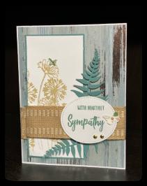 Hand-Made Sympathy Card