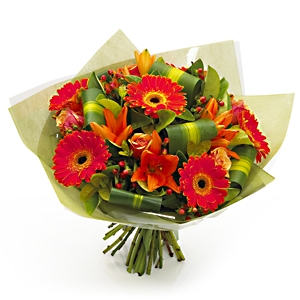 Something wonderful Hand Tied Bouquet