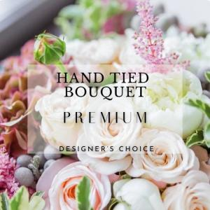 Hand Tied Bouquet  Premium Designers Choice  in Calgary, AB | Al Fraches Flowers LTD