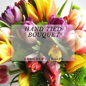 Hand Tied Bouquet  Designers Choice  in Calgary, AB   Al Fraches Flowers LTD