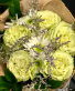 Hand Tied Bouquet of Lemonade Roses & Accents Hand Tied Bouquet