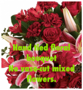 Hand tied Mixed Flowers No Vase  Cut Flowers No Vase