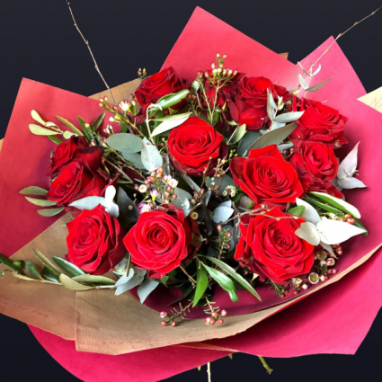 HAND TIED ROSES  ROSES