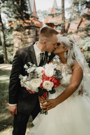 Hand Tied Succulent bouquet   wedding