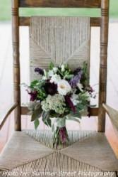 Hand Tied Wild Flower Bridal Bouquet