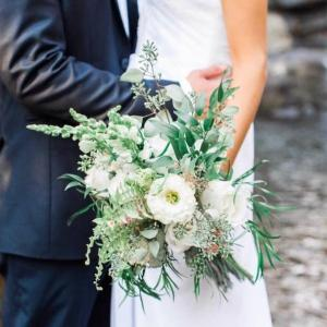Hand tied wildflowers bridal bouquet  in Edison, NJ | E&E FLOWERS