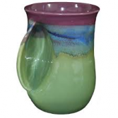 Hand warmer Mug Clay in Motion