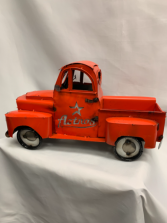 Hand Welded Metal Astros Truck Add a Designer Choice Arrangement to the bed
