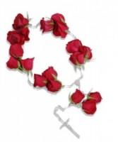 Handheld Rosary Inside Casket