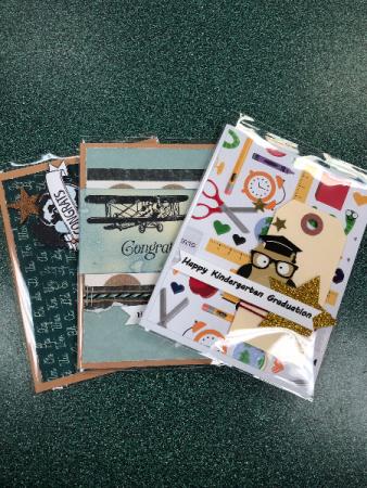 Handmade cards For kindergarten grad