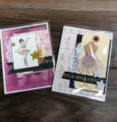 Handmade cards  For your special dancer