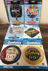 Father's Day gift idea Assorted helium balloons