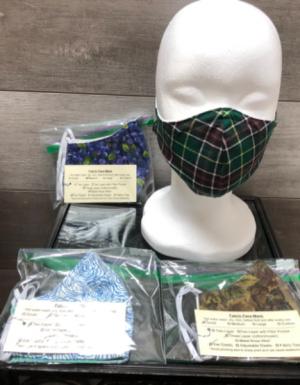 Handmade masks Non medical grade masks in Clarenville, NL | SOMETHING SPECIAL GIFT & FLOWER SHOP