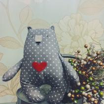 Handmade Stuffed Bear