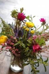 Handpicked Blooms Mason Jar Arrangement