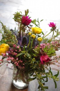 Handpicked Blooms Mason Jar Arrangement