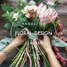 Hands on Floral Design Class October 13, 2019  1pm to 3 pm