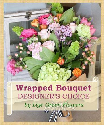 Handwrapped Bouquet Designer's Choice