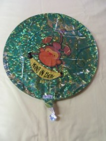 Hang In There Balloon Mylar Balloon