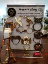 Hang Ups eyeglass holder