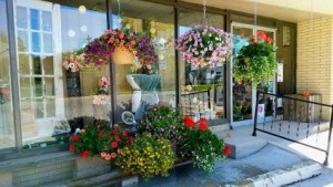 Hanging baskets local delivery in Defiance, OH | FANCY PETALS