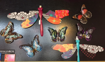 Hanging Butterflies & Dragonflies