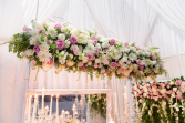 Hanging Floral Installations  Floral Installations