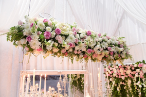 Hanging Floral Installations  Floral Installations  in Oakville, ON | ANN'S FLOWER BOUTIQUE-Wedding & Event Florist