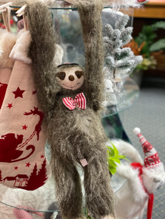 Hanging Sloth Gift Item