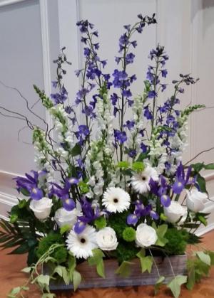 Hanukkah Celebration Flower Arrangement in Chappaqua, NY | MONET'S GARDEN