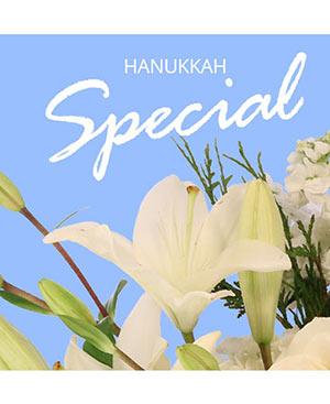Hanukkah Special Designer's Choice in Belvidere, IL | THE FLOWER BIN ETC.