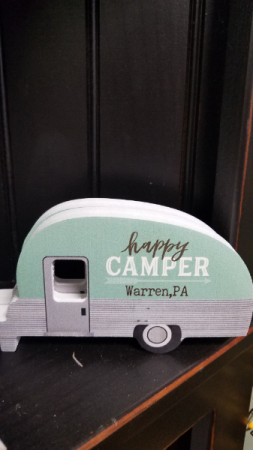 Happy Camper Gift Home Decor