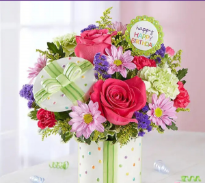 Happy Birthday  in Elyria, OH | PUFFER'S FLORAL SHOPPE, INC.