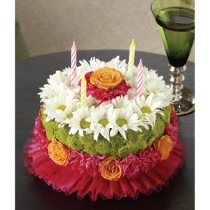 Happiest Birthday Flower Cake  in Las Vegas, NV | Blooming Memory