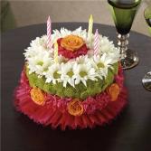 Happiest Birthday Flower Cake Birthday Flowers