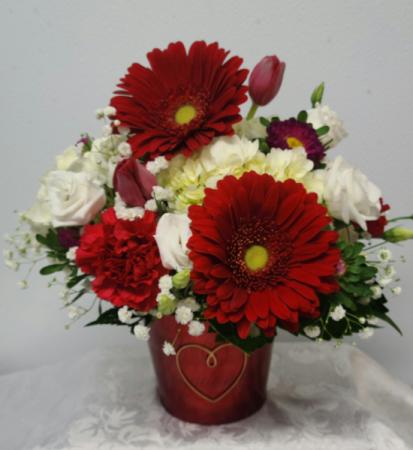 Happily Ever After Basket Valentine