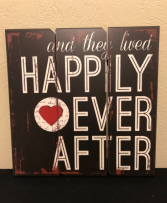 Happily Ever After... Wooden Wall Art