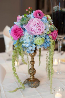 Happily Ever After Wedding Centerpiece