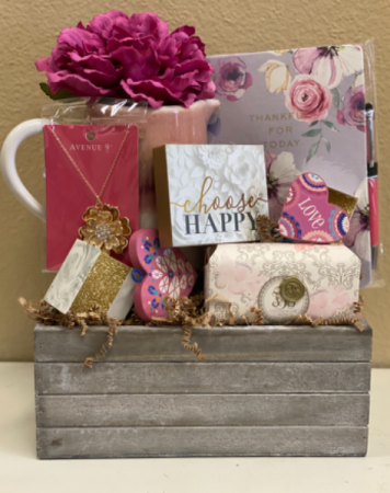 Happiness  Gift basket