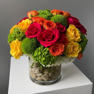 Happiness Happens Arrangement in Croton On Hudson, NY   Cooke's Little Shoppe Of Flowers