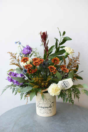 Happiness is Homemade  in La Grande, OR | FITZGERALD FLOWERS