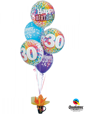 Happy 30,40 50 Birthday Balloons