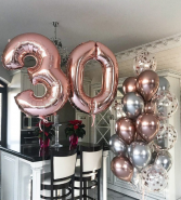 Rose Gold Birthday Party