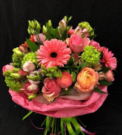 Happy  Bouquet of Seasonal Flowers
