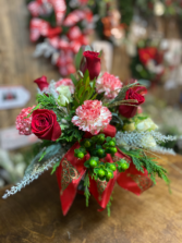 Holly Jolly Christmas Arrangement