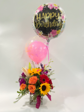 Happy arrangement  Floral arrangement