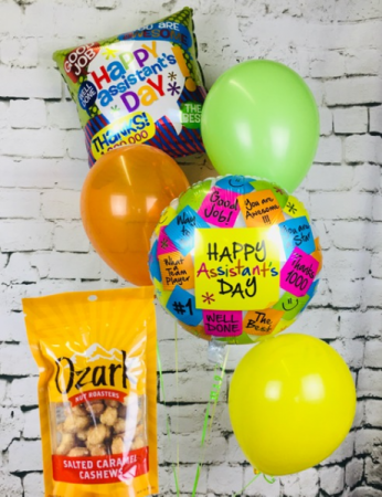 Happy Assistants Day Balloon Bouquet
